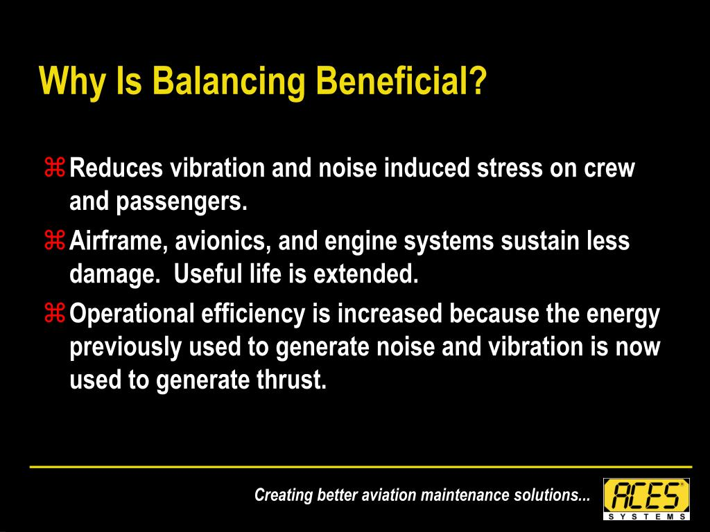 Why Is Balancing Beneficial?