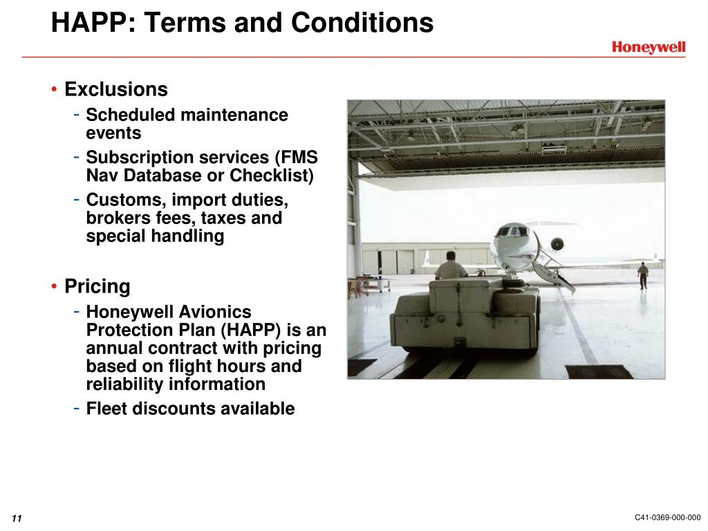 HAPP: Terms and Conditions