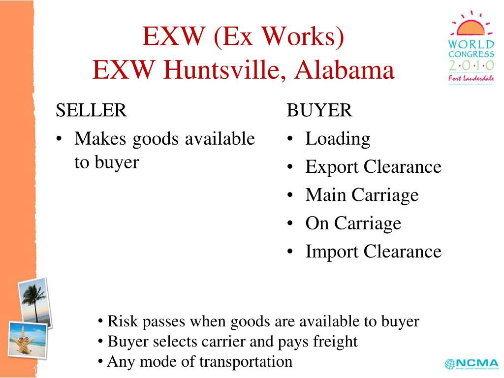 EXW (Ex Works)