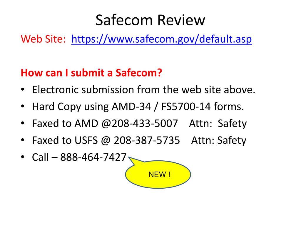 Safecom Review