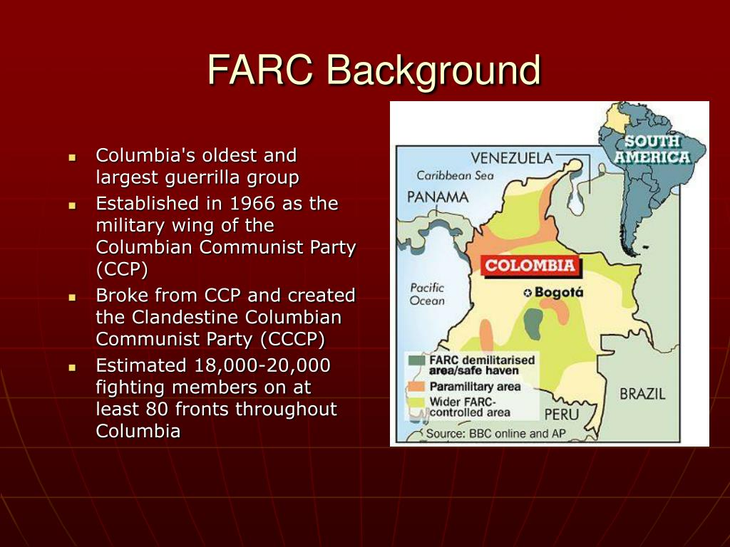 FARC Background