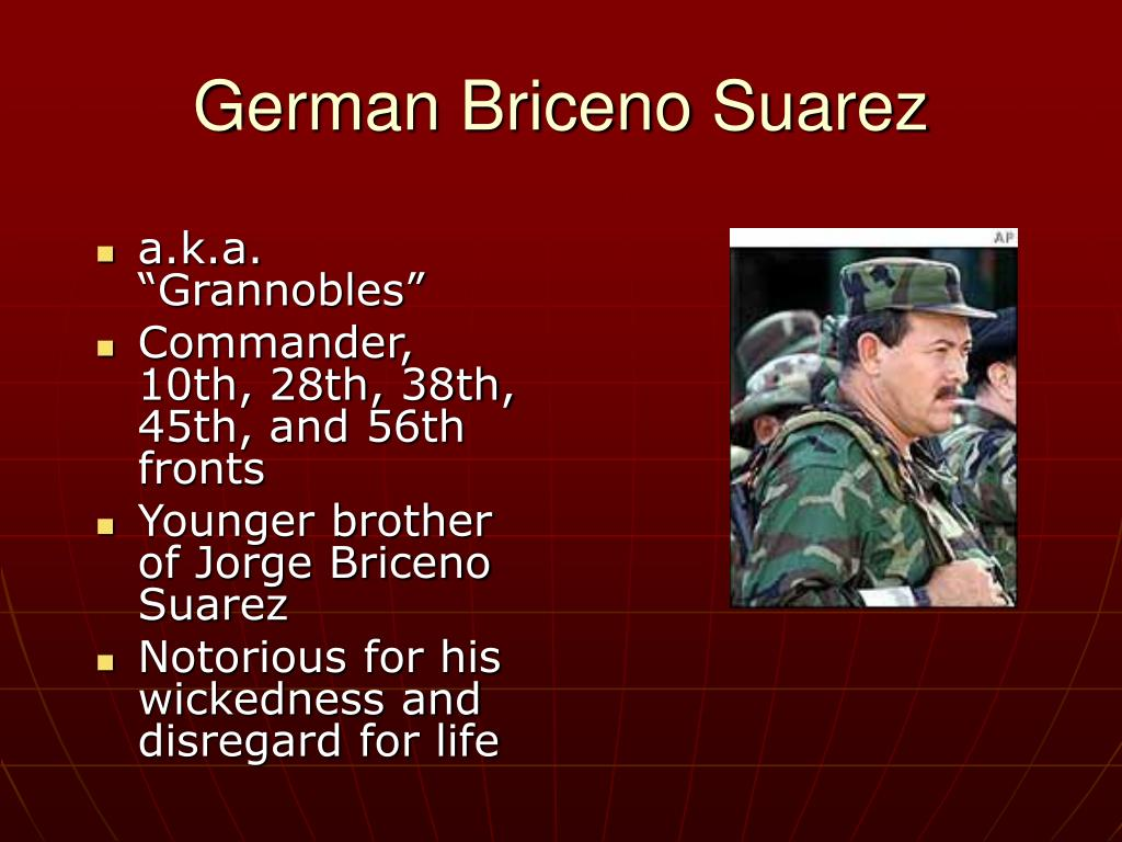 German Briceno Suarez