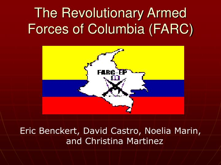 The revolutionary armed forces of columbia farc l.jpg