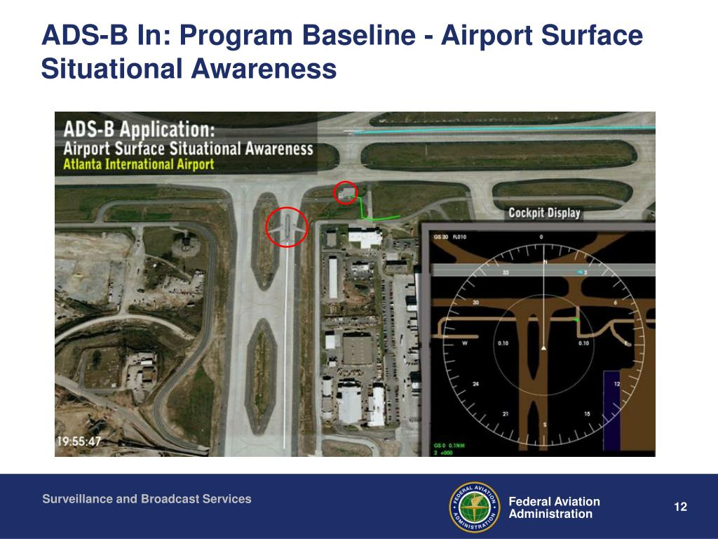ADS-B In: Program Baseline - Airport Surface Situational Awareness