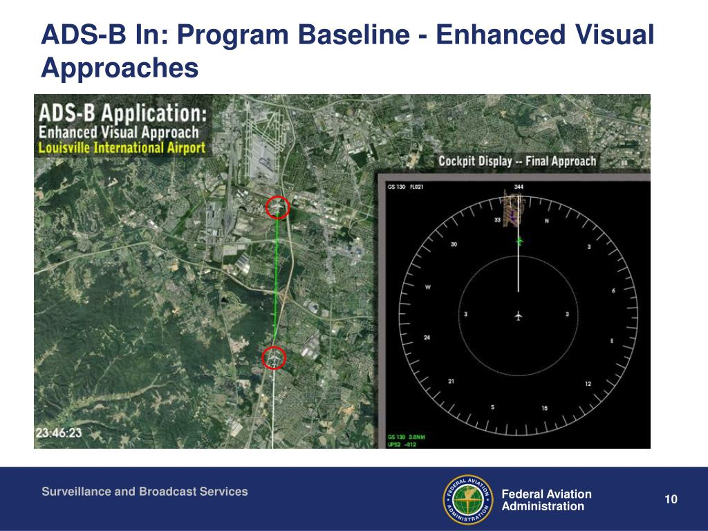 ADS-B In: Program Baseline - Enhanced Visual Approaches