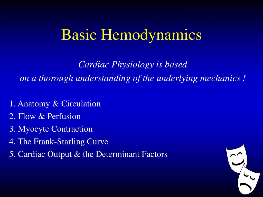 Basic Hemodynamics
