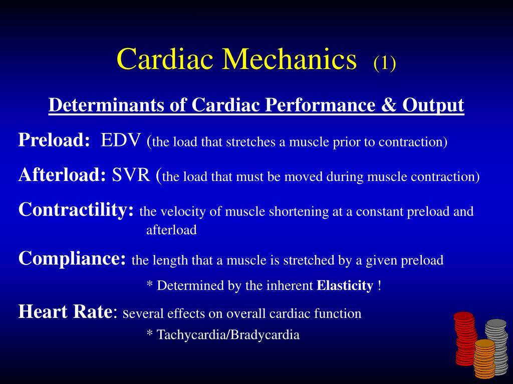 Cardiac Mechanics