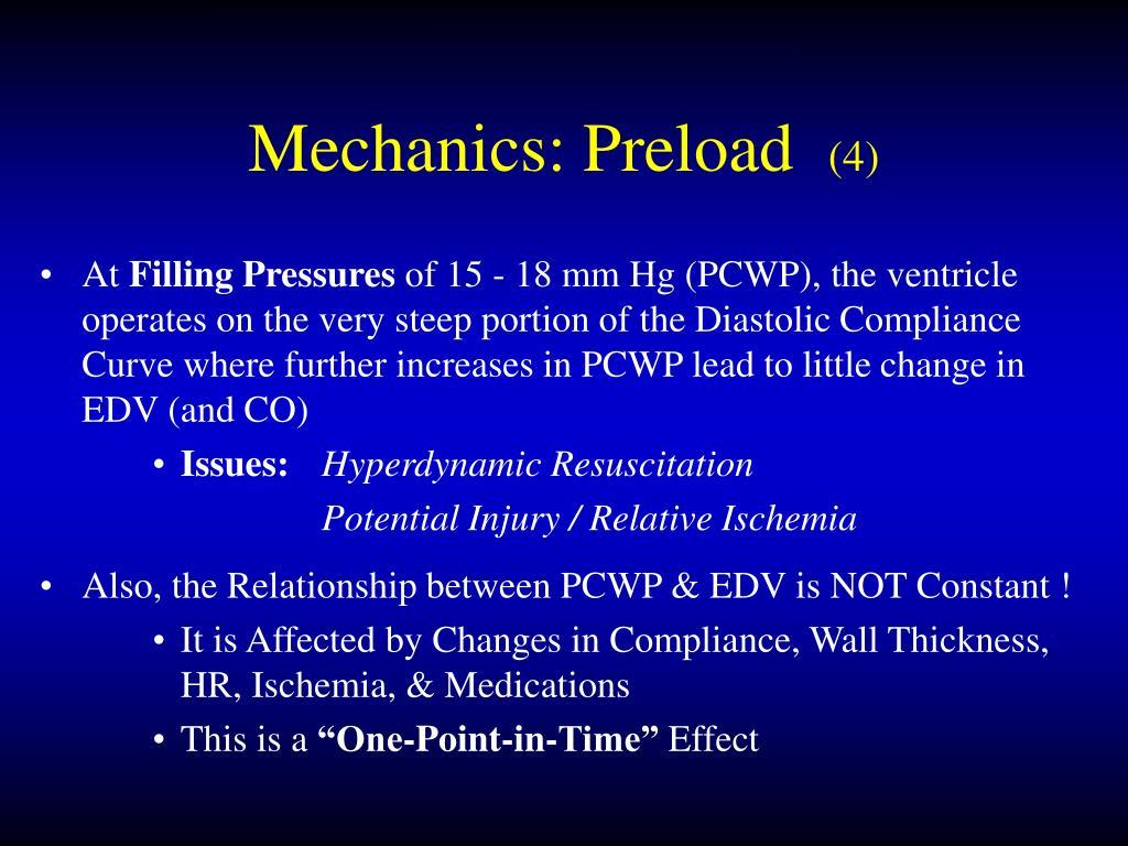 Mechanics: Preload