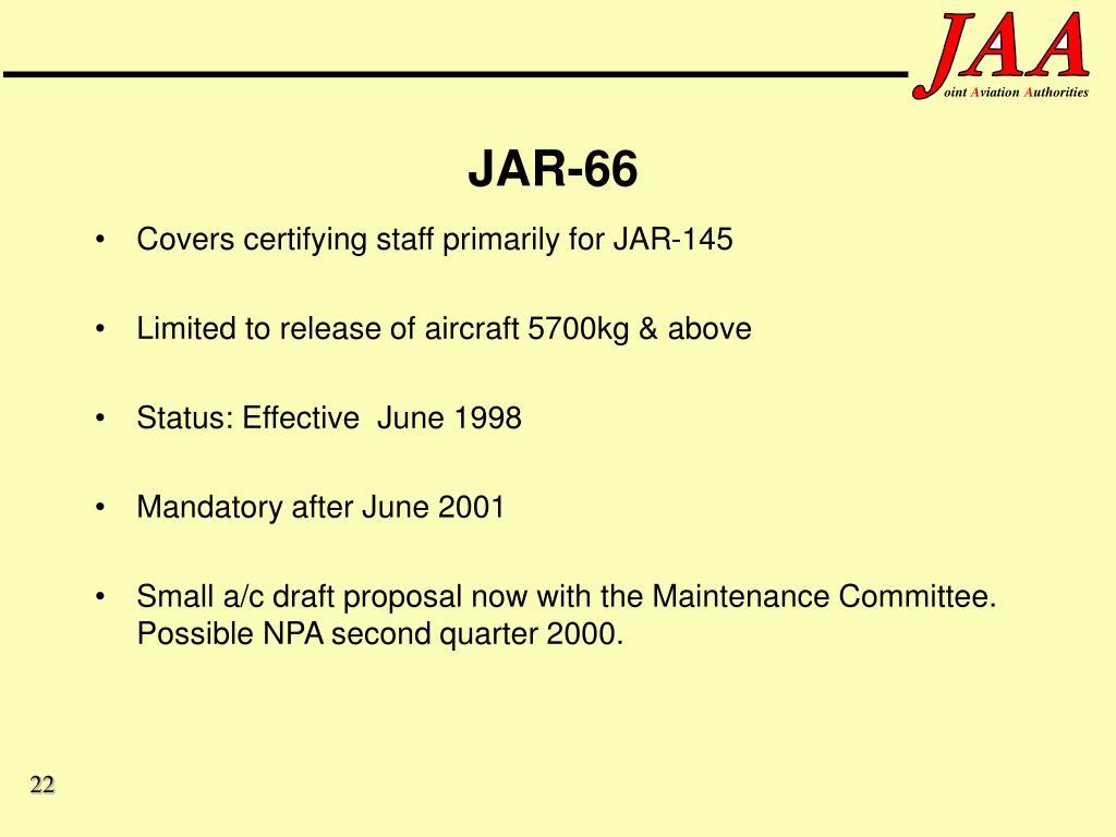 JAR-66