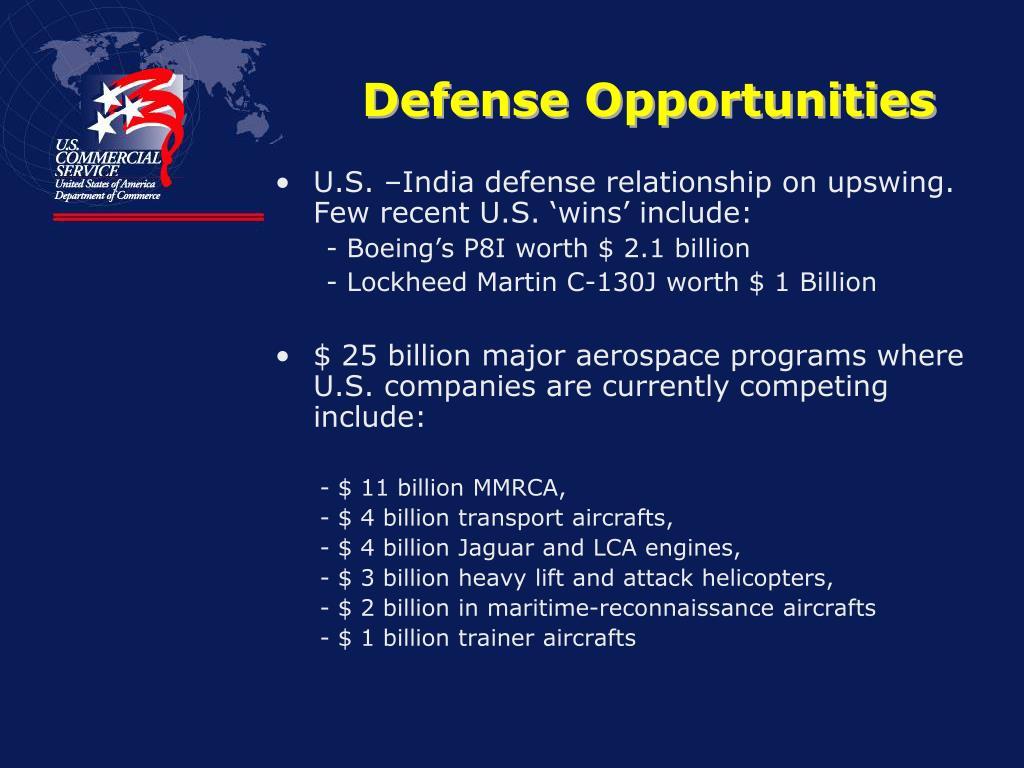 Defense Opportunities