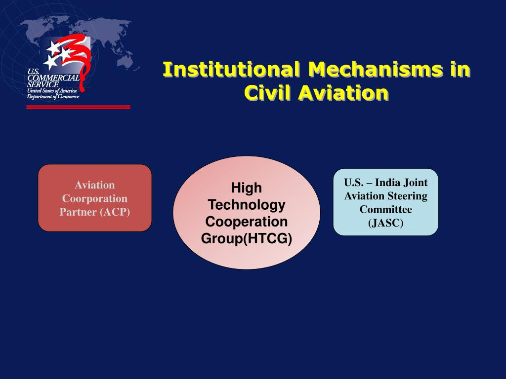Institutional Mechanisms in Civil Aviation