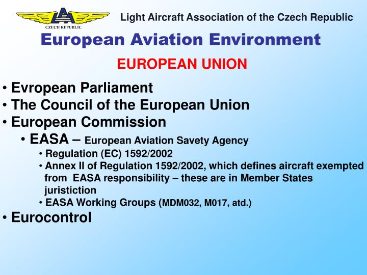 European Aviation Environment