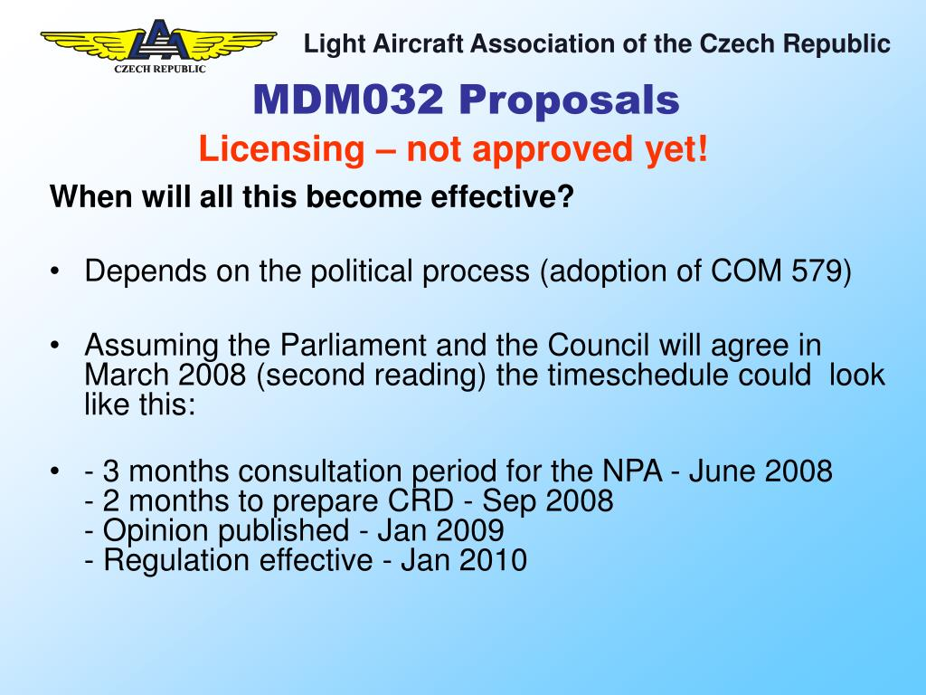 MDM032 Proposals
