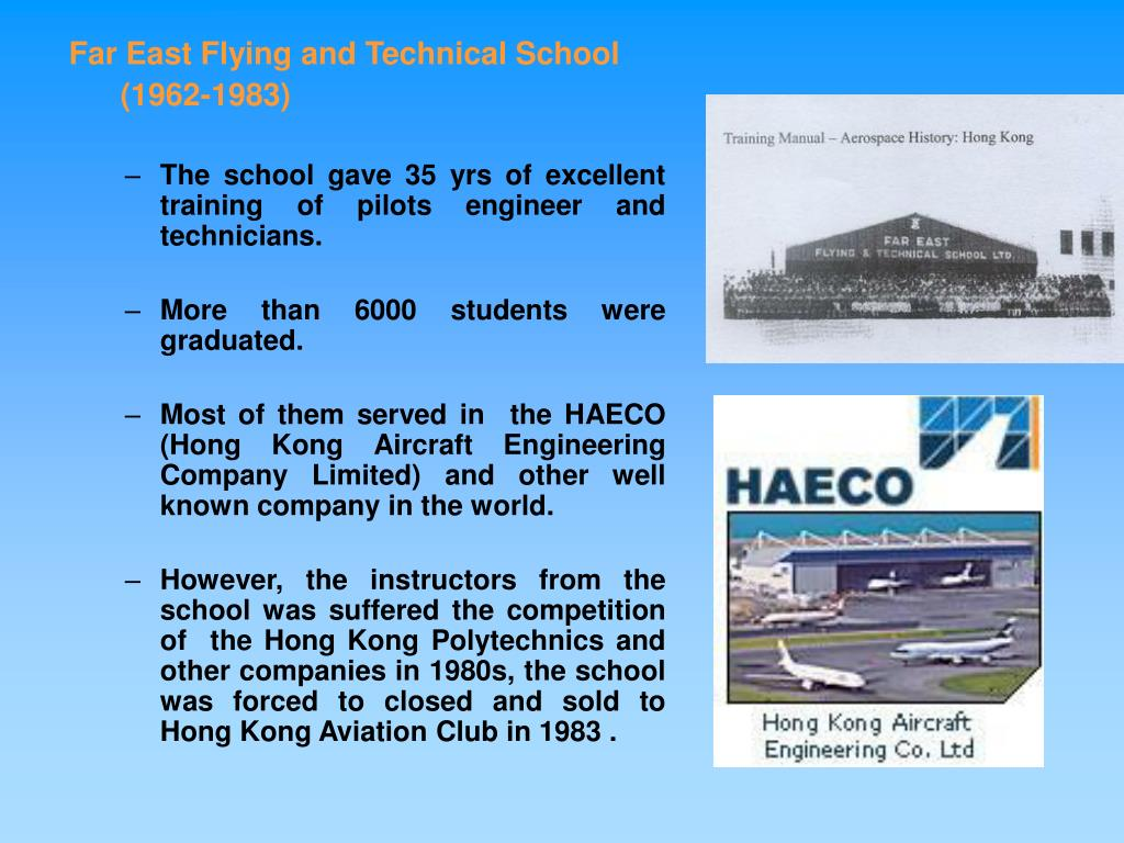 Far East Flying and Technical School