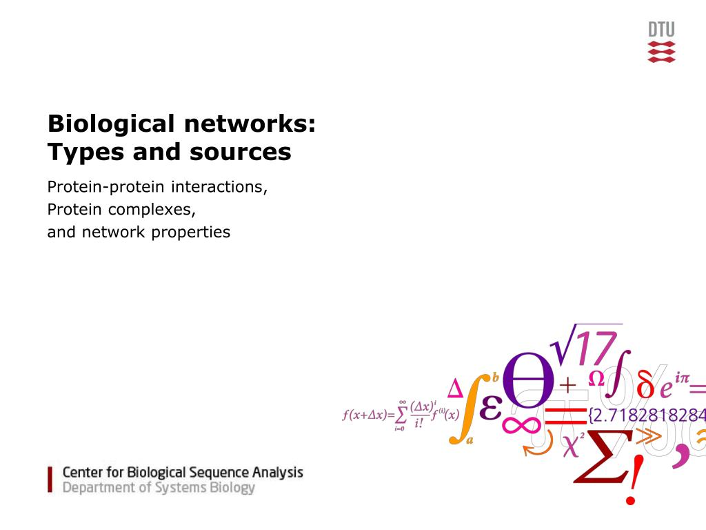 Biological networks: