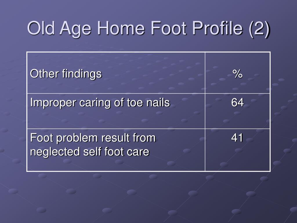 Old Age Home Foot Profile (2)
