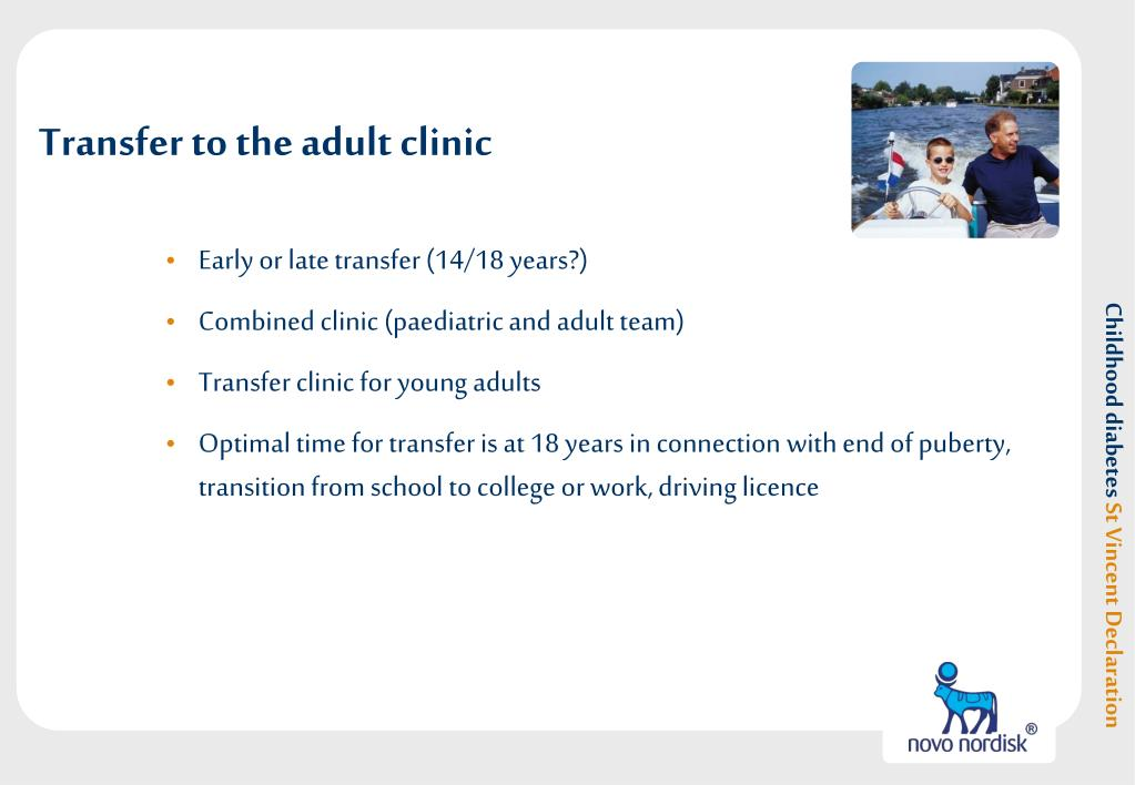 Transfer to the adult clinic
