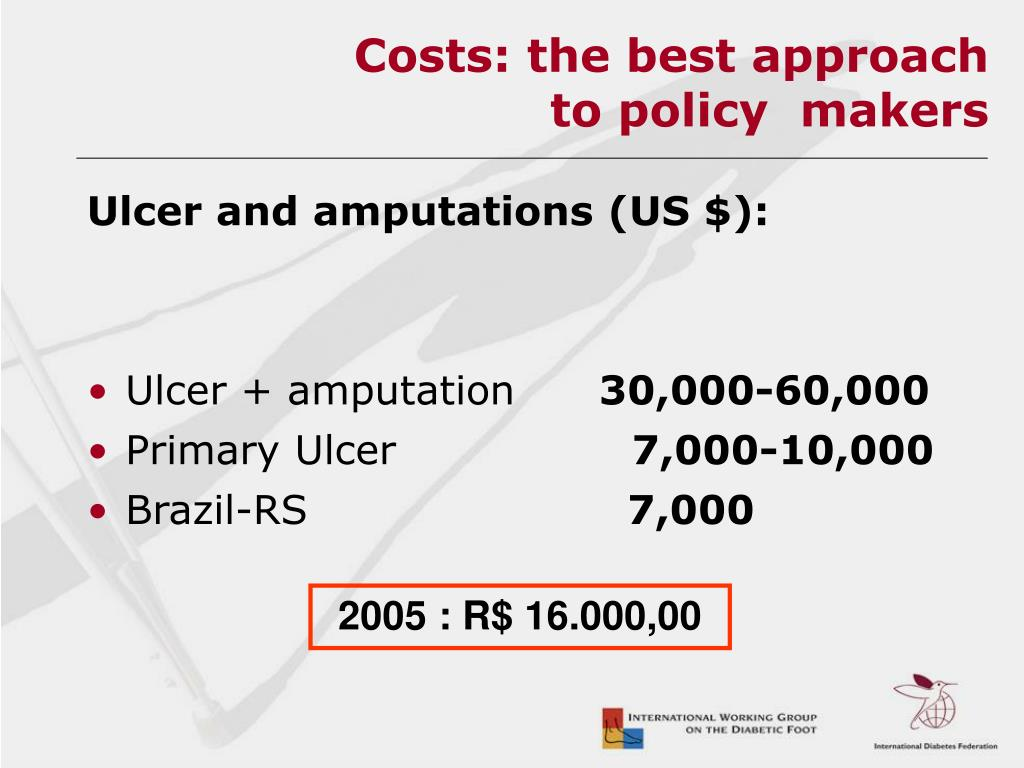 Costs: the best approach