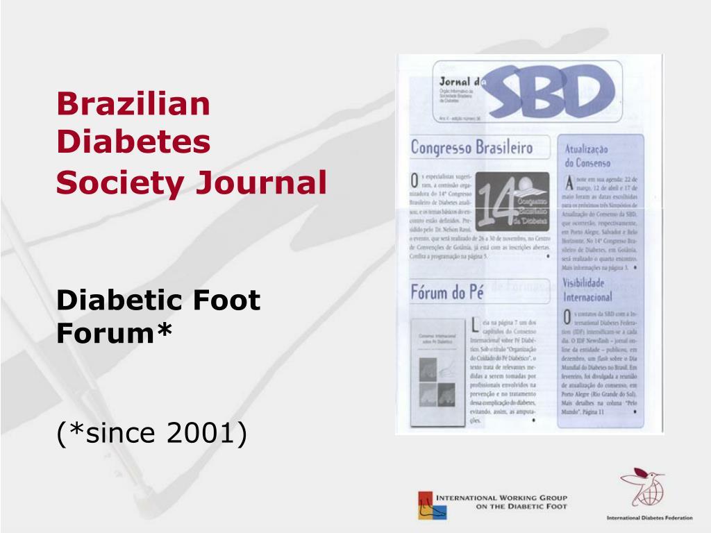 Brazilian Diabetes Society Journal