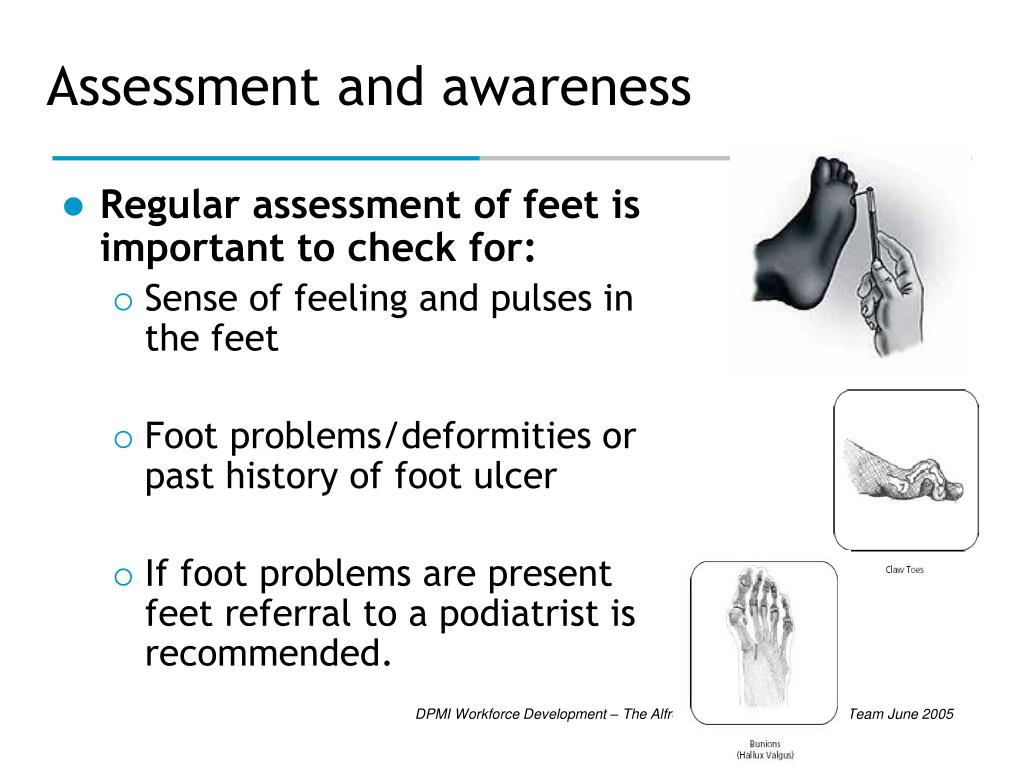 Assessment and awareness