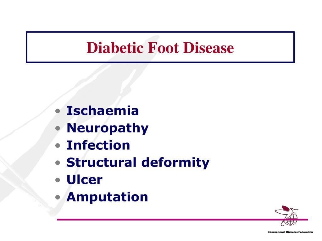 Diabetic Foot Disease