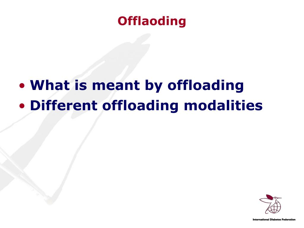 Offlaoding