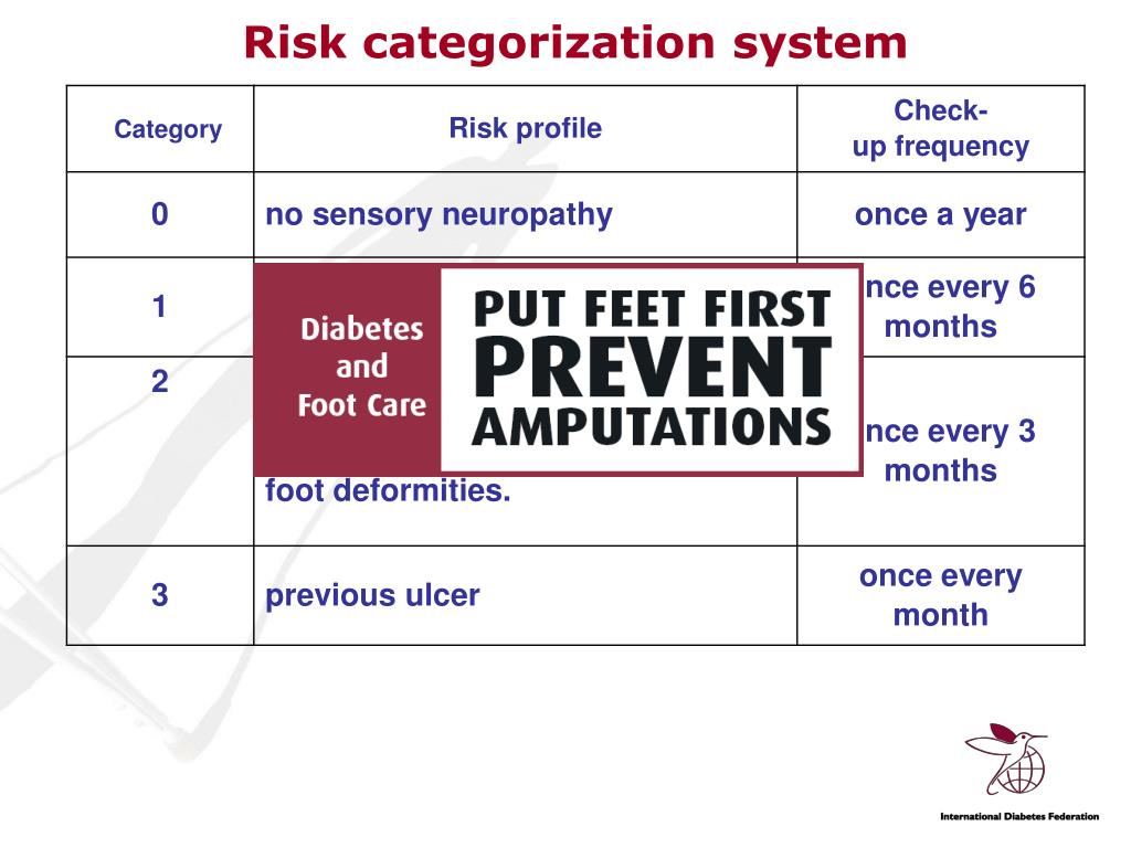 Risk categorization system