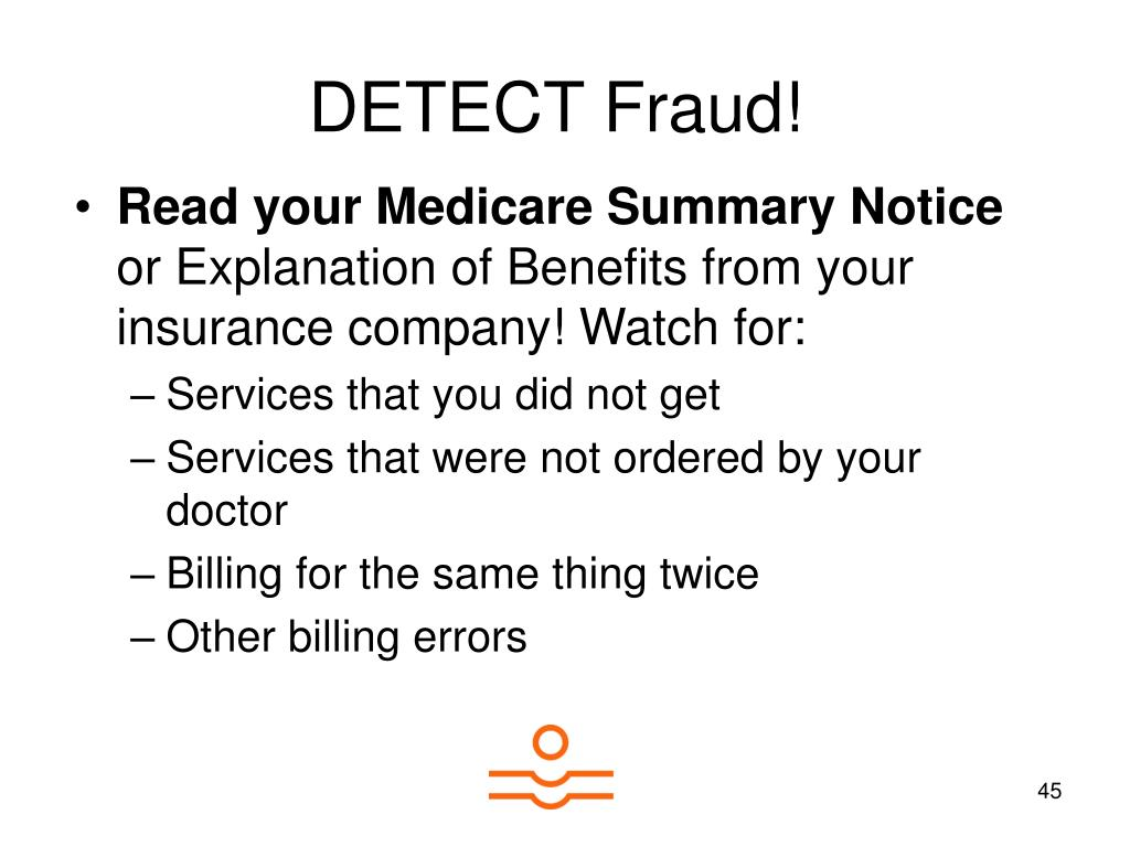 DETECT Fraud!