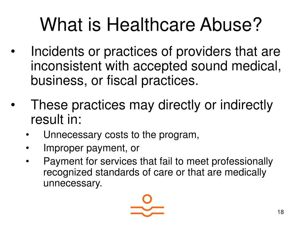 What is Healthcare Abuse?