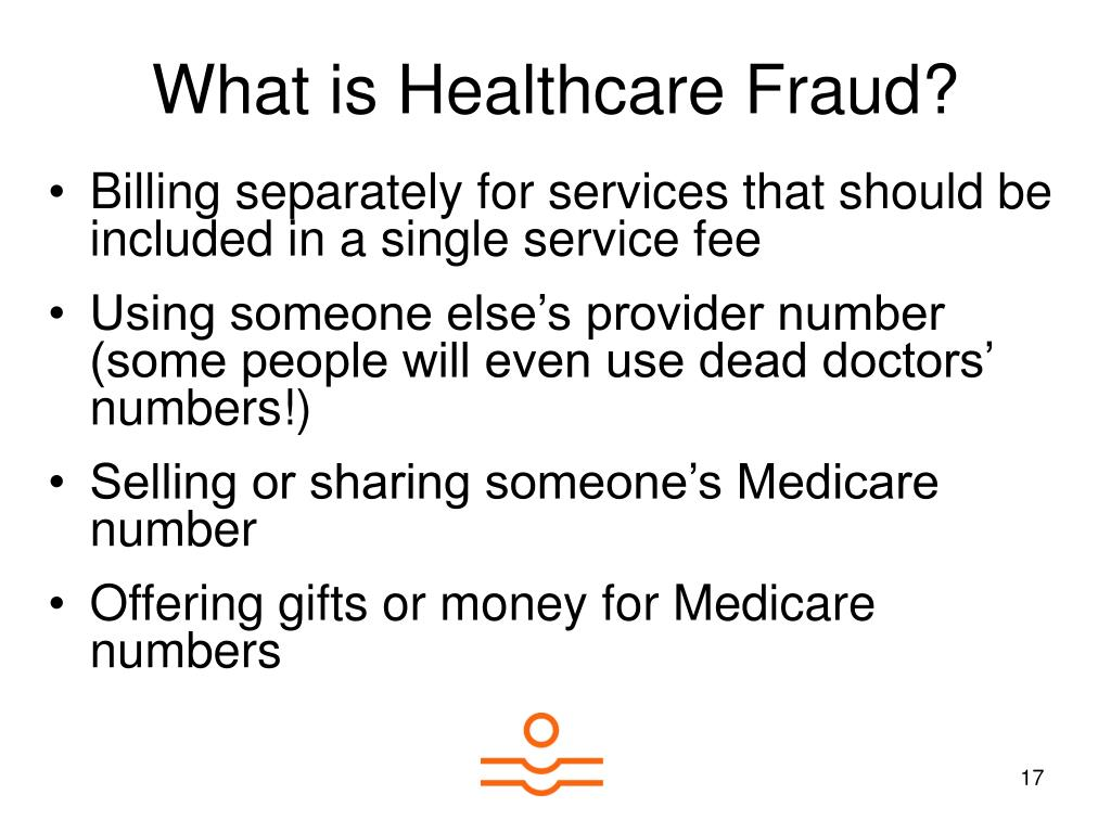 What is Healthcare Fraud?