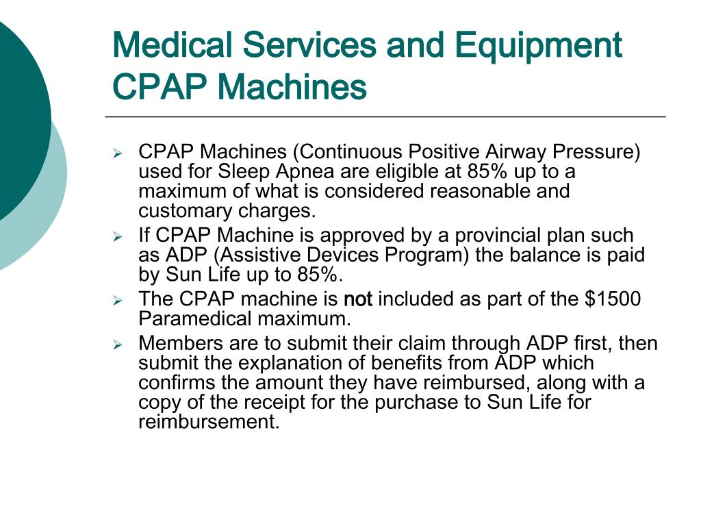 Medical Services and Equipment CPAP Machines