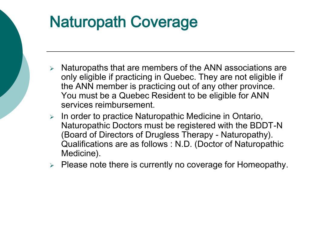 Naturopath Coverage