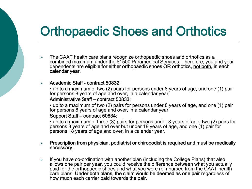 Orthopaedic Shoes and Orthotics