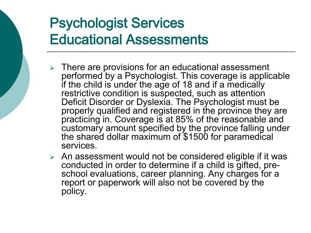 Psychologist Services