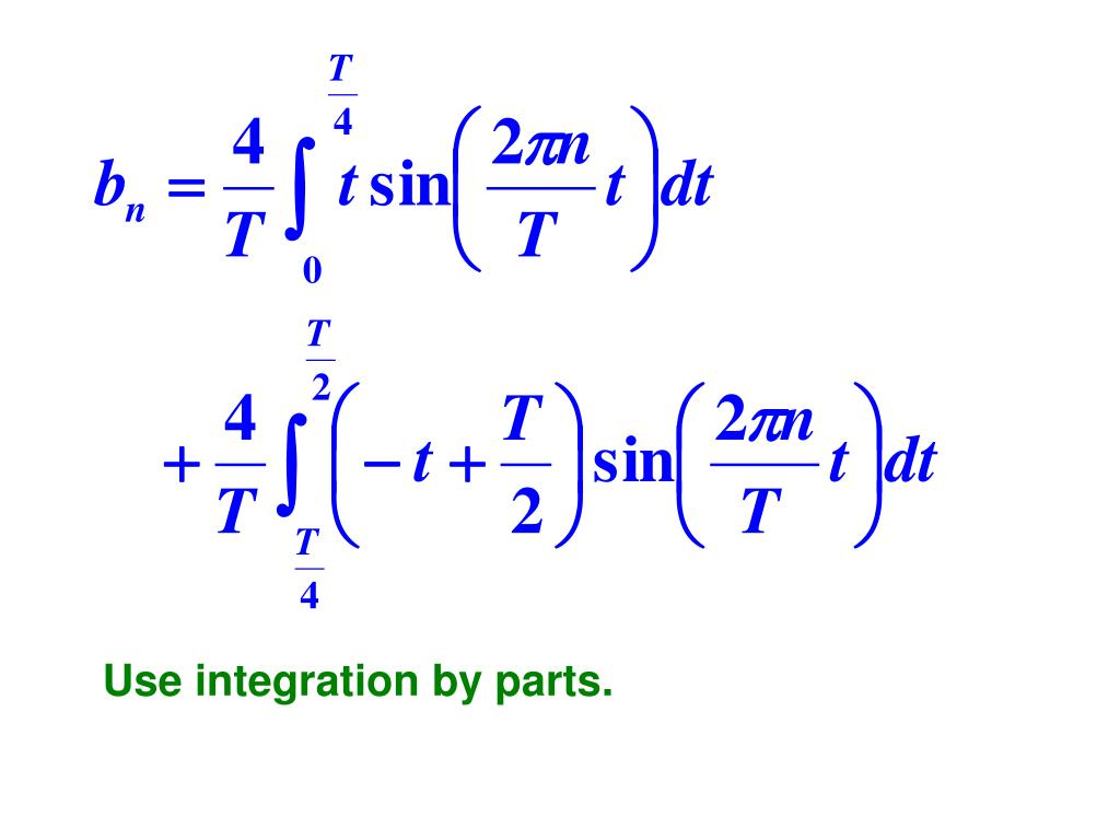 Use integration by parts.