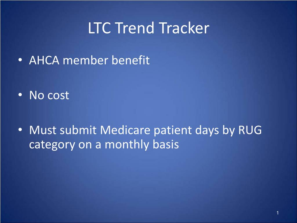 LTC Trend Tracker