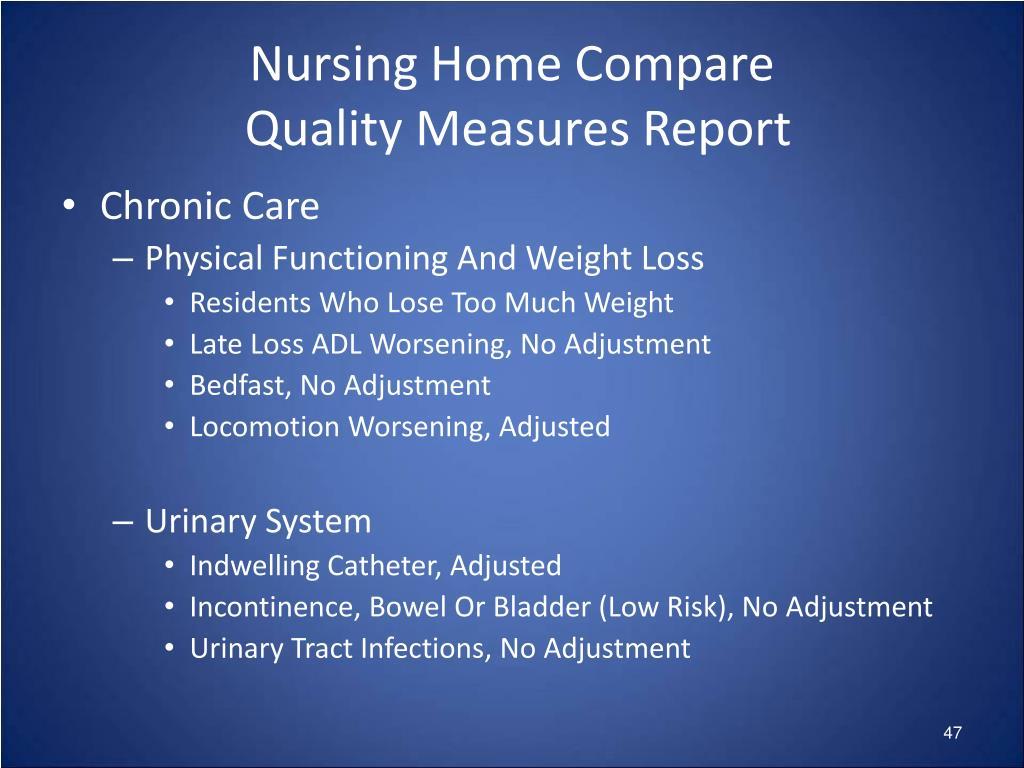 Nursing Home Compare