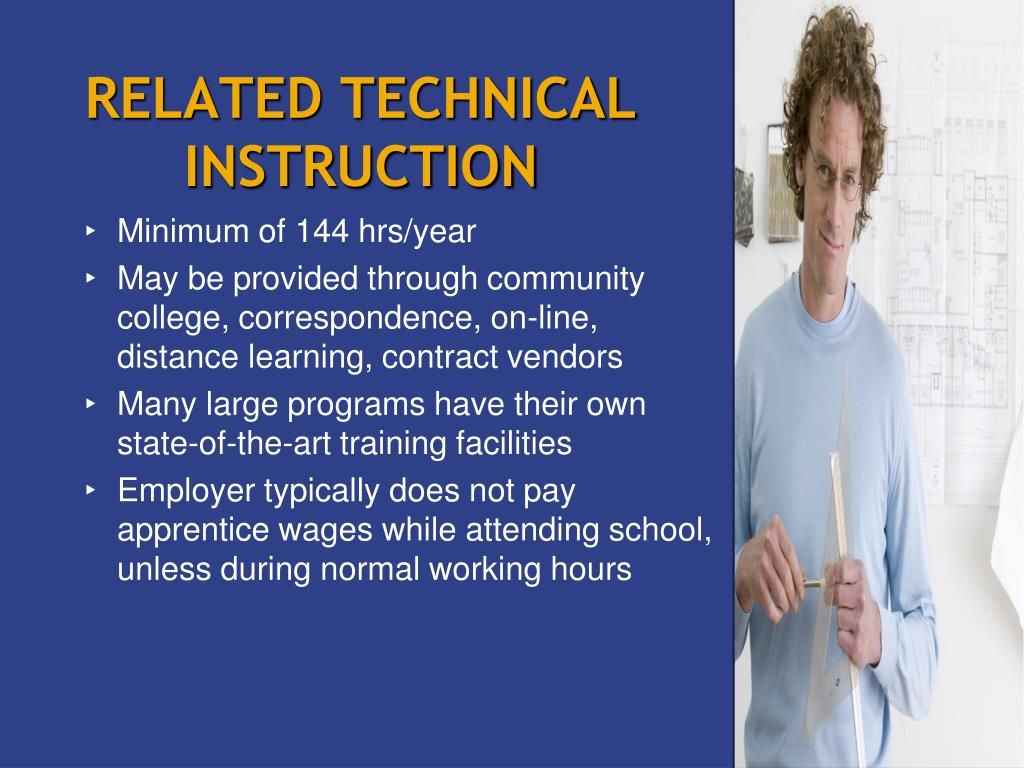 RELATED TECHNICAL INSTRUCTION