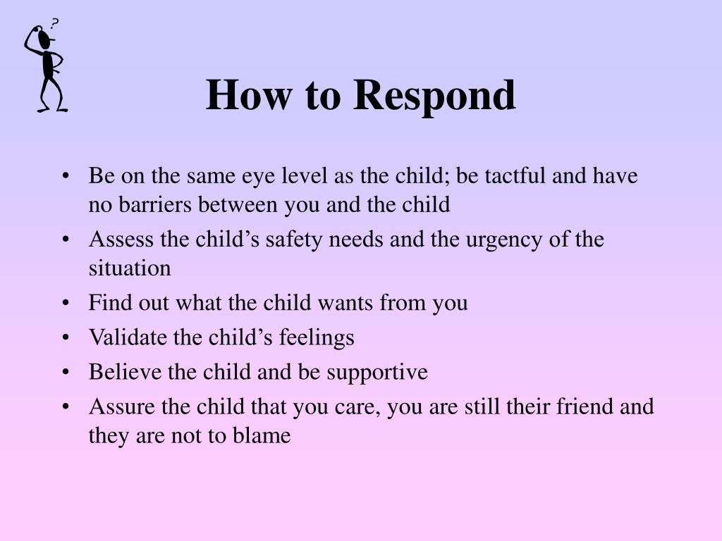 How to Respond