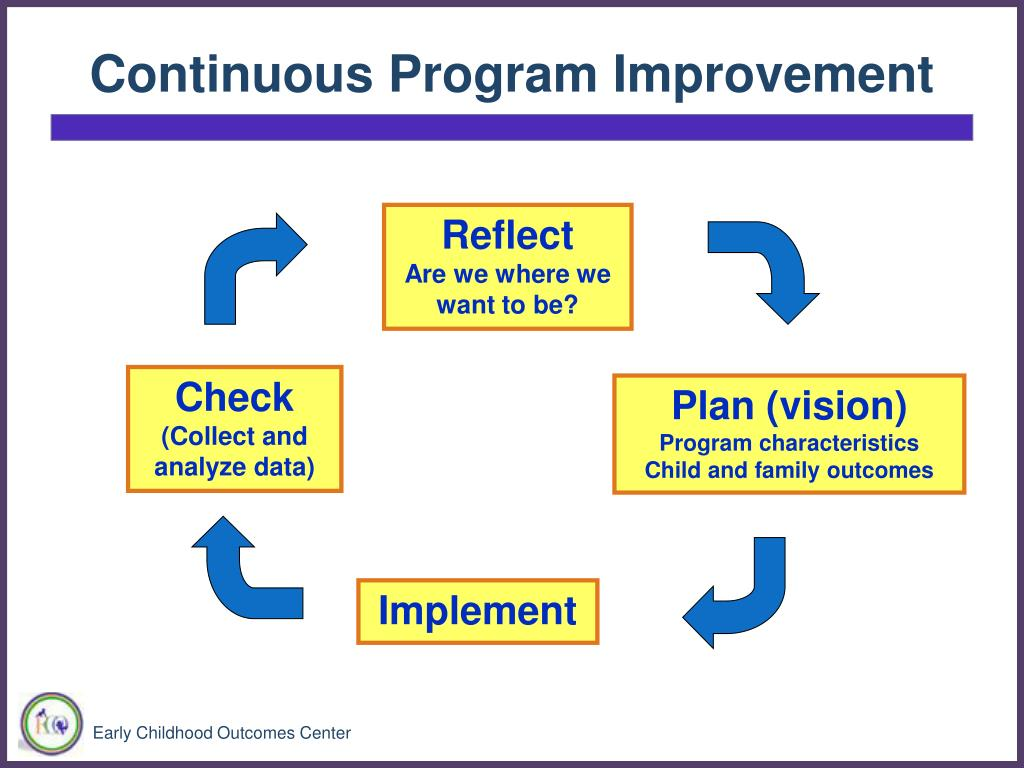 Continuous Program Improvement