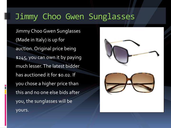 Jimmy choo gwen sunglasses