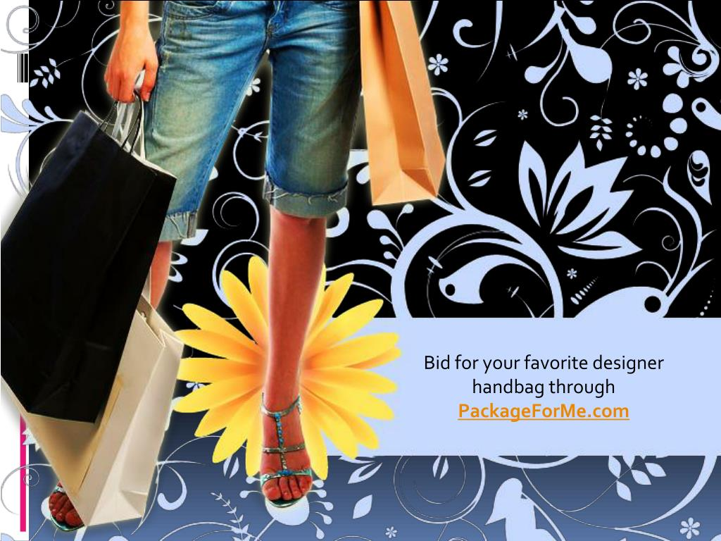 Bid for your favorite designer handbag through