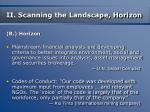 ii scanning the landscape horizon15
