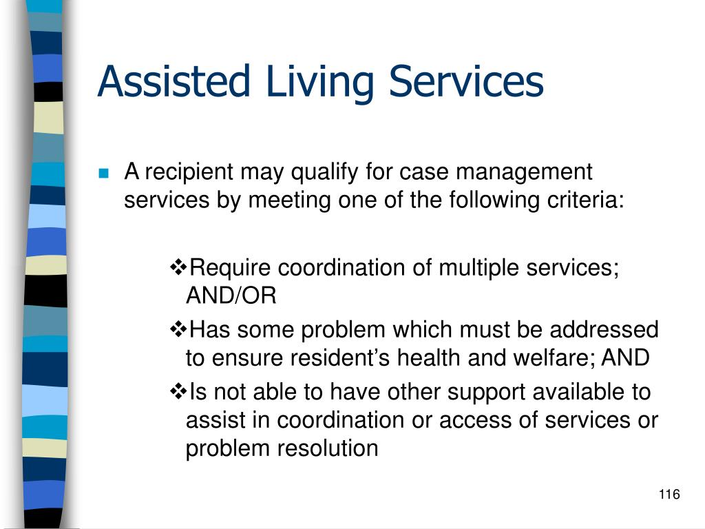 Assisted Living Services