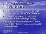 6 1 a new system of measurements