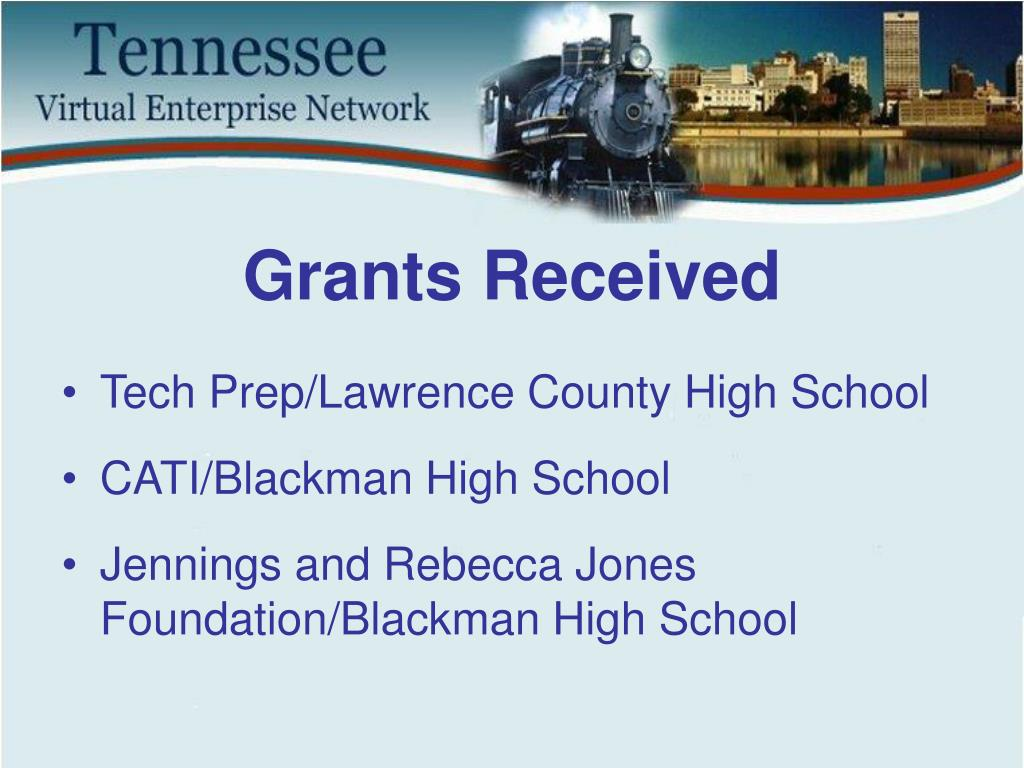 Grants Received