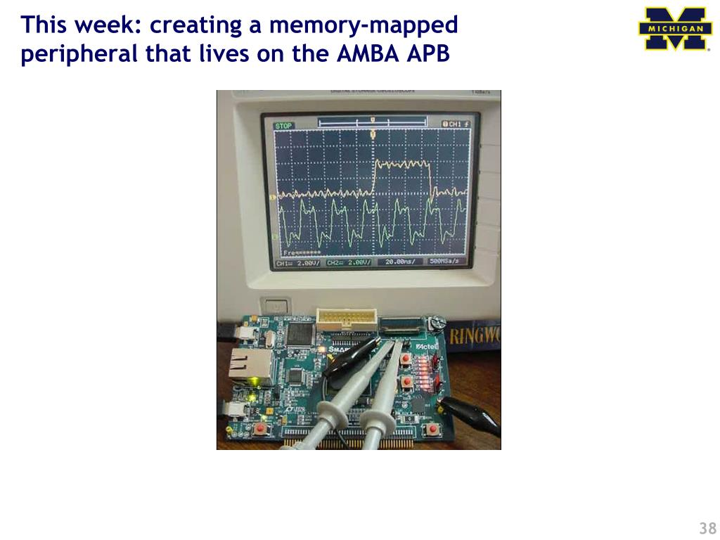 This week: creating a memory-mapped