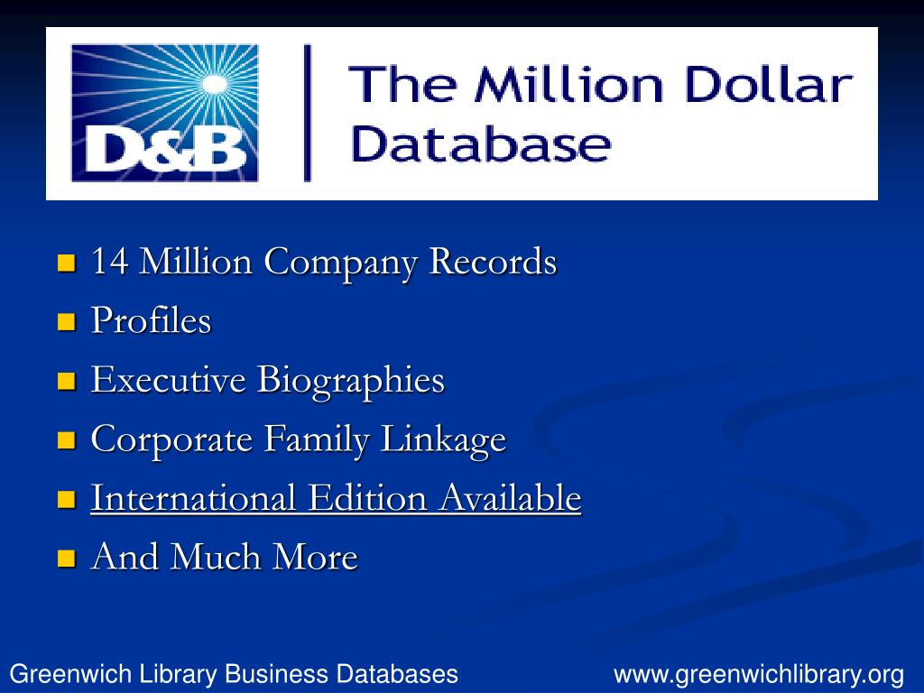 14 Million Company Records