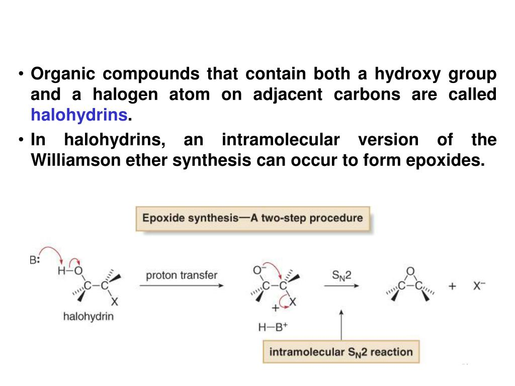 Organic compounds that contain both a hydroxy group and a halogen atom on adjacent carbons are called
