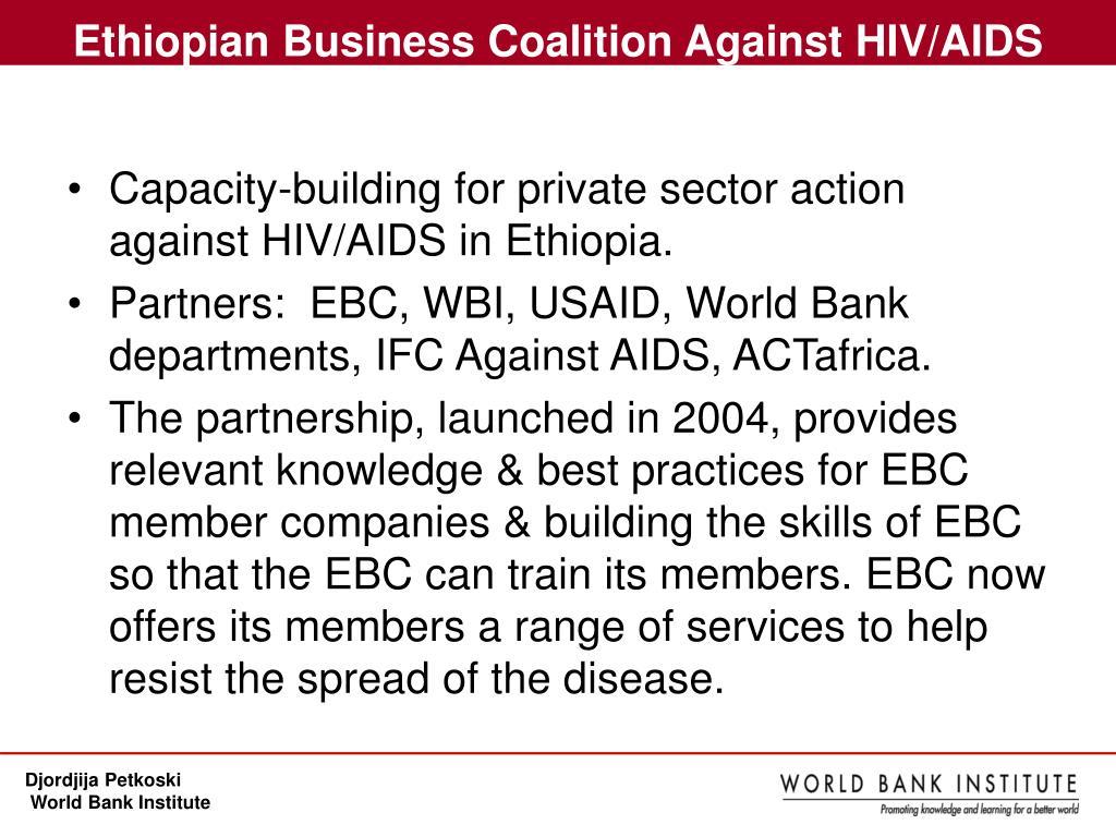 Ethiopian Business Coalition Against HIV/AIDS